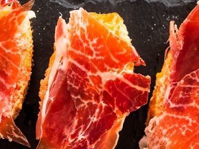 receta pan tumaca con jamón