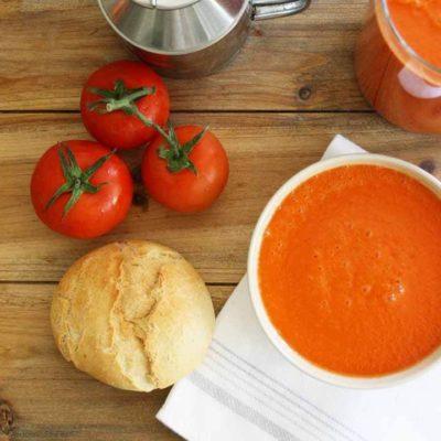 receta gazpacho andaluz