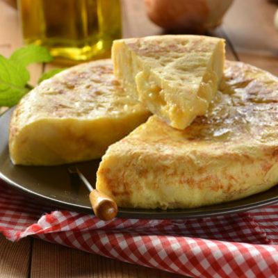 Tortilla de patatas para bebes