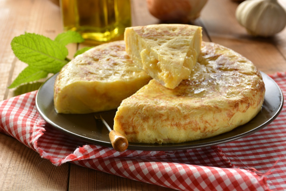 BLW Tortilla de patatas para BEBÉS sin huevo | Apta para VEGANOS