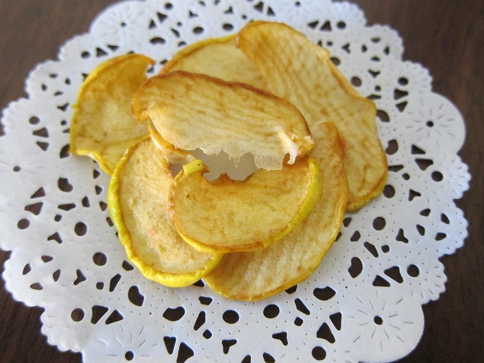 Chips de Manzana BLW