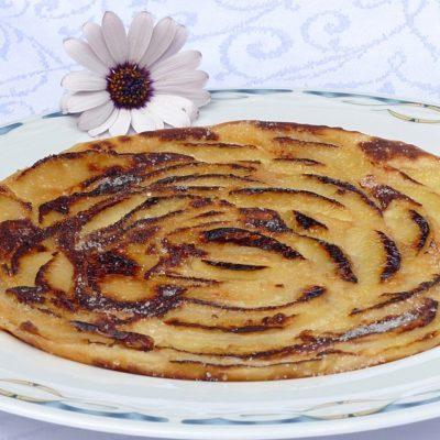 crepes de manzana blw