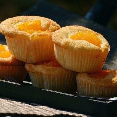 cupcakes sin mantequilla listos para comer