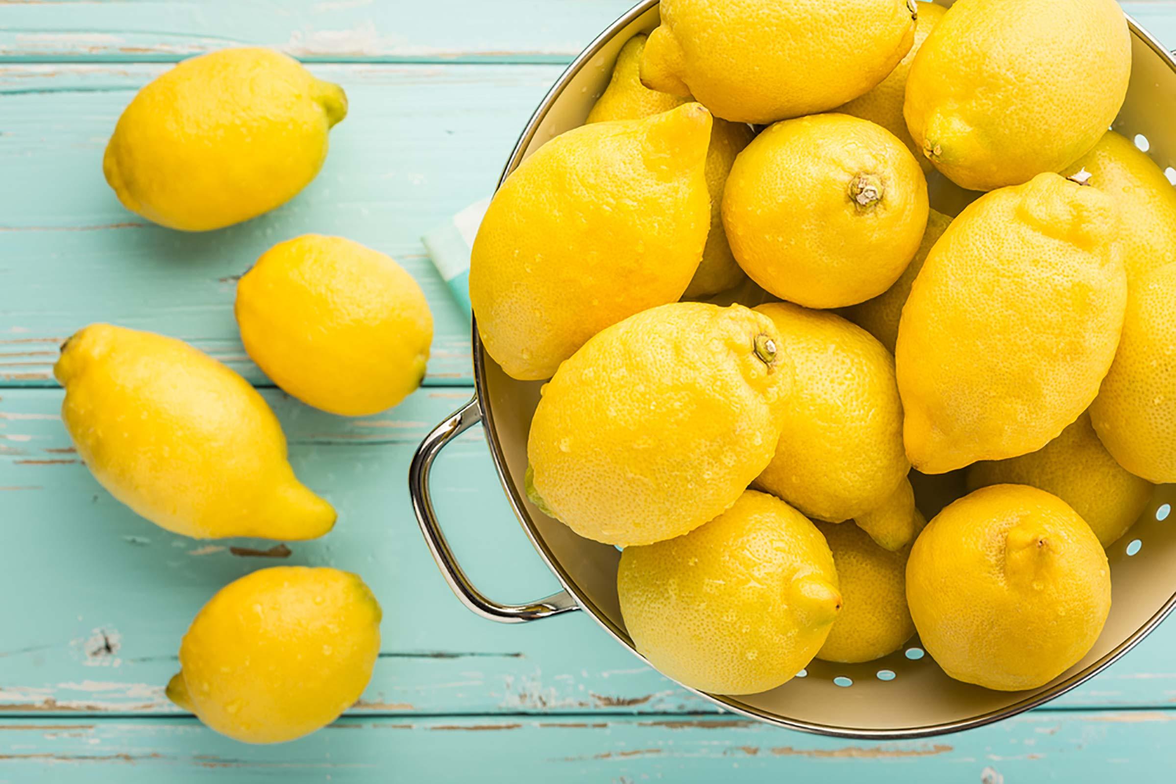 mascarilla facial de limón