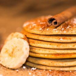 Pancakes de Plátano (o banana) 🥞🍌