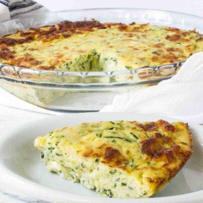 tortilla de calabacín y patatas
