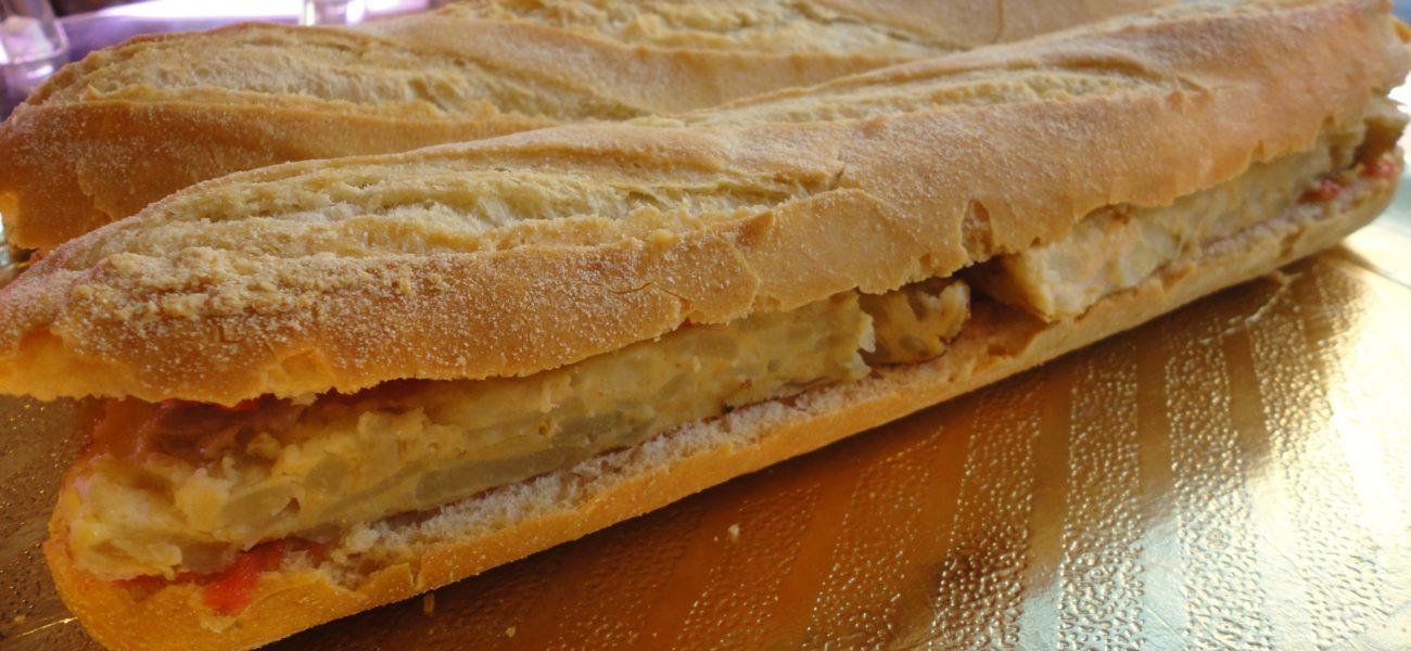 Bocadillos de Tortilla ¡Irresistibles! 🥖🥖