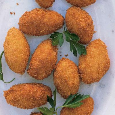 receta croquetas de jamon