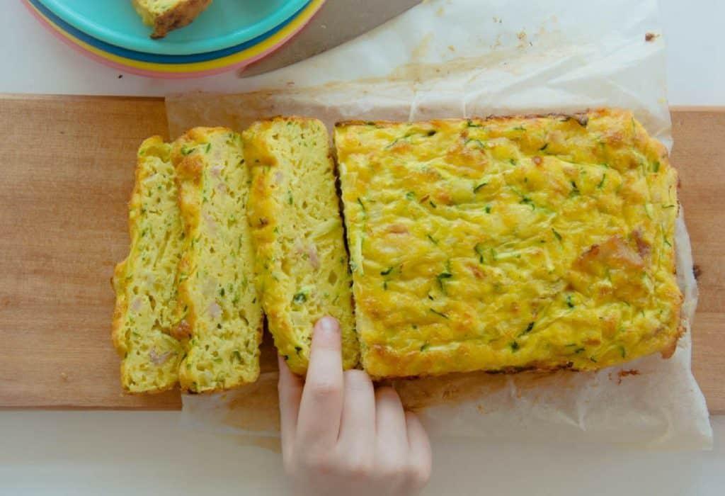 Tarta de calabacín: Pastel fácil y delicioso