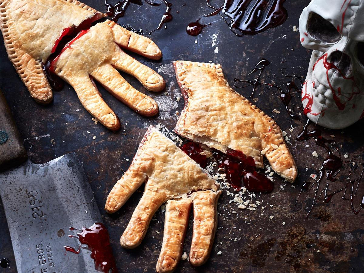 Receta de Empanada sangrienta para Halloween