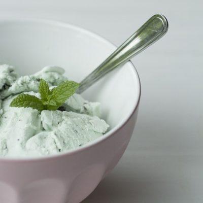 helado fácil de hierba luisa
