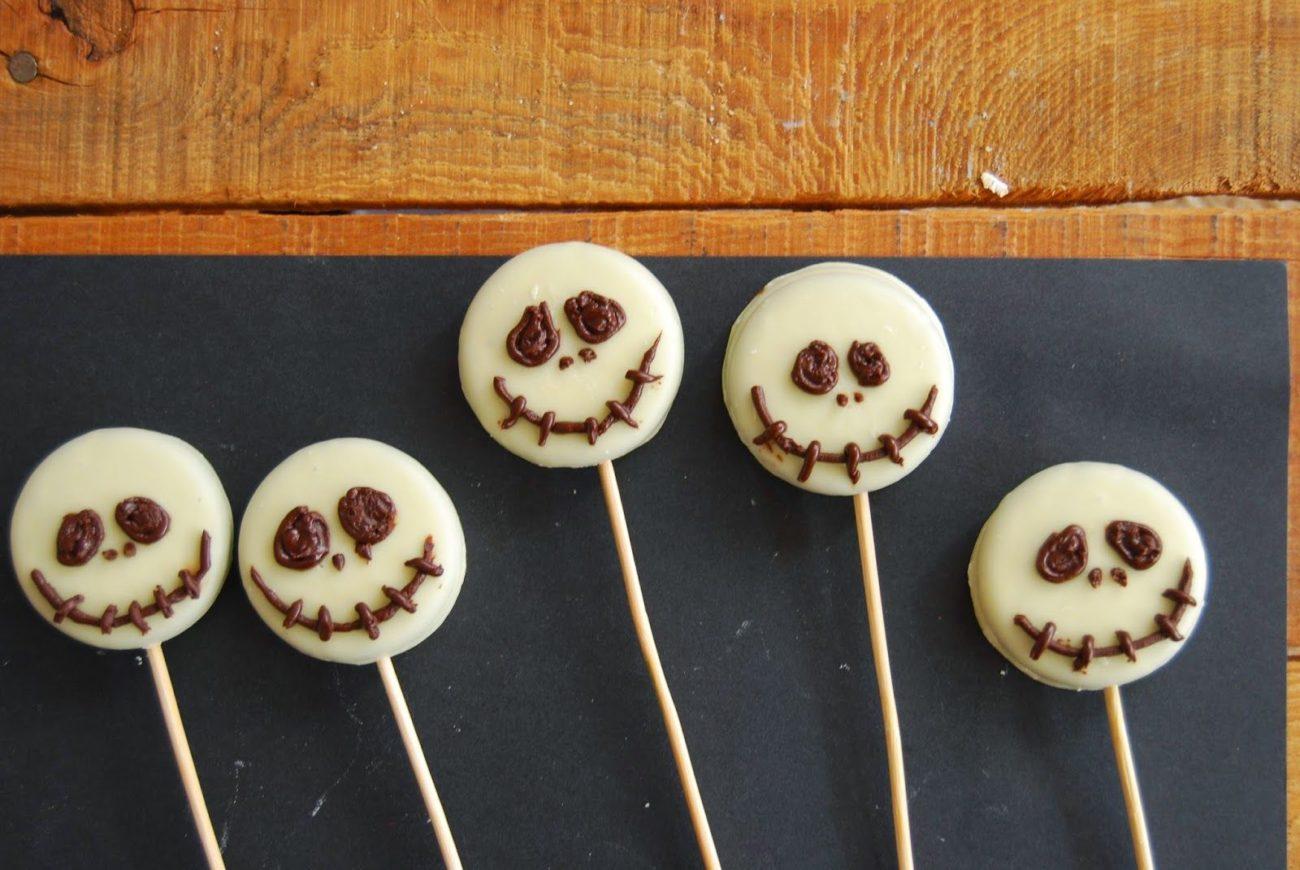 Piruletas Jack Skellington para Halloween 👻👻