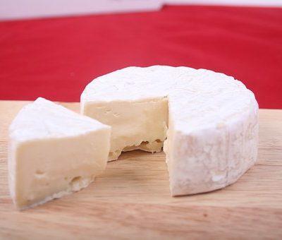 tapa de queso brie