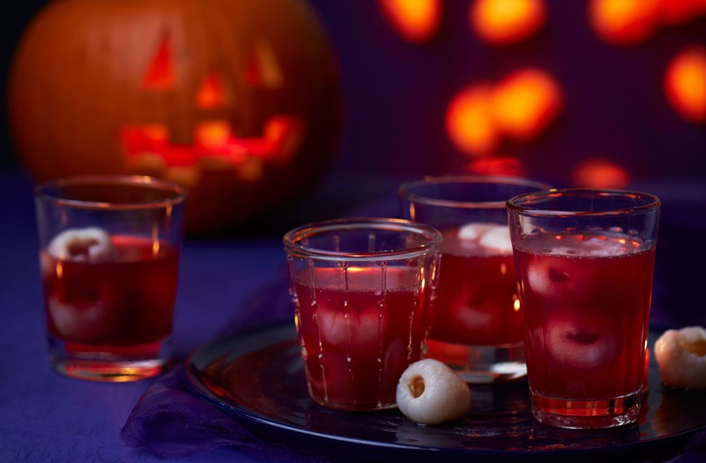 receta cóctel halloween sangre comestible