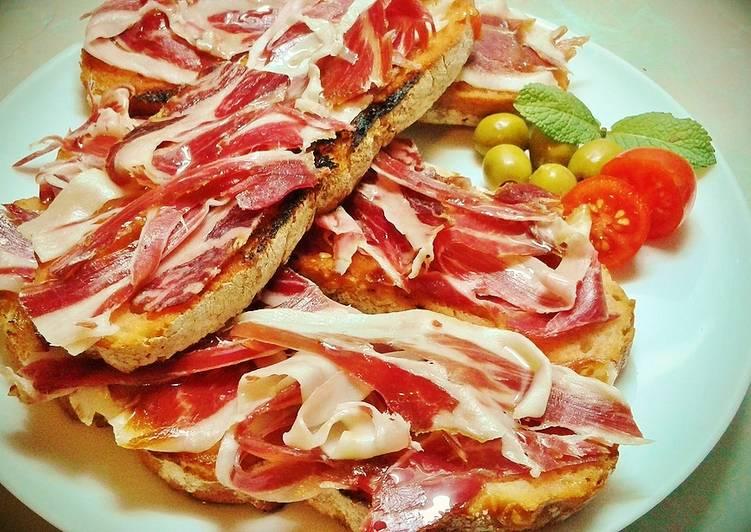 Tostada de jamón: ¡Receta Irresistible!