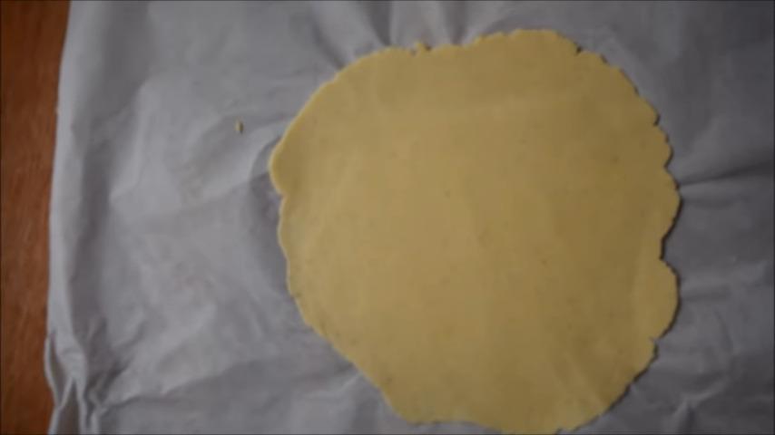 masa nachos caseros aplanada