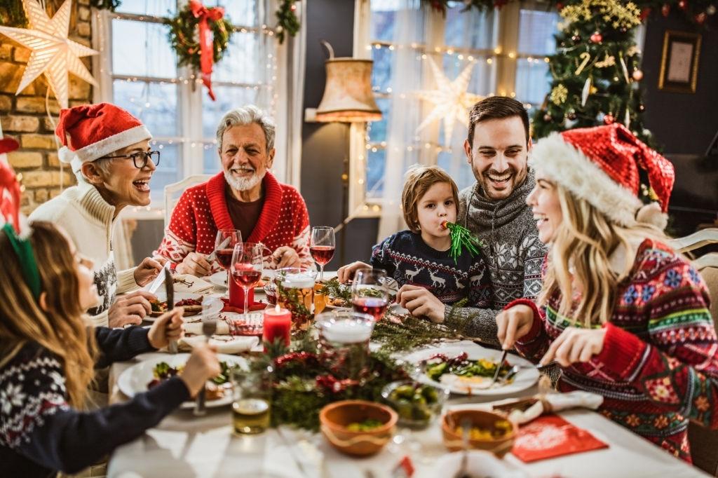 mesa de navidad decoracion
