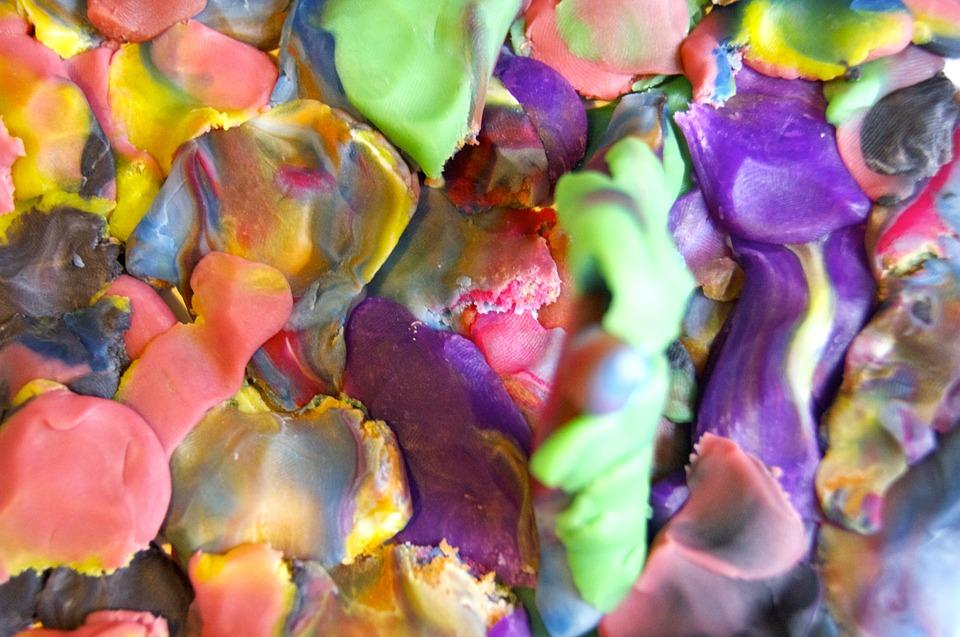 plastilina comestible con laca