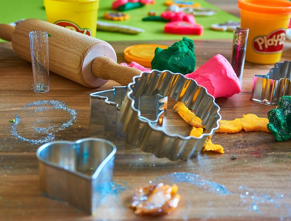 plastilina comestible para niños