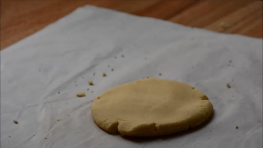porción masa nachos caseros