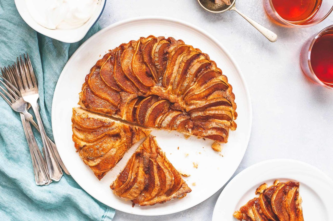 Tarta de pera | Deliciosa tarta casera