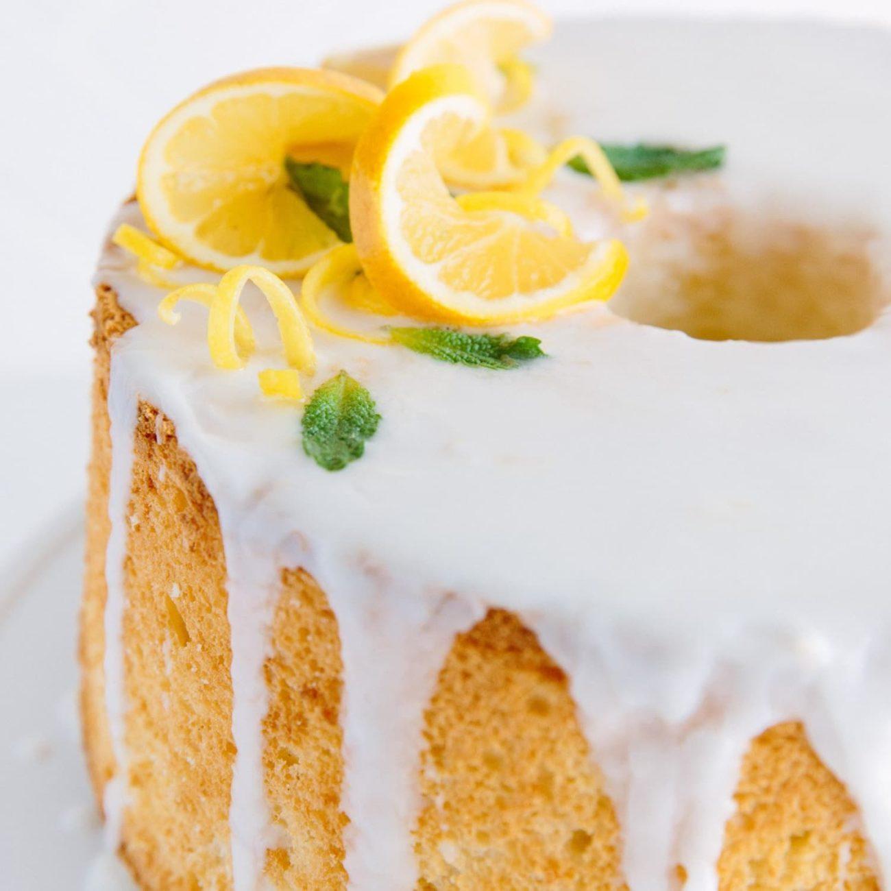 Bizcocho Gourmet de limón mano de buda
