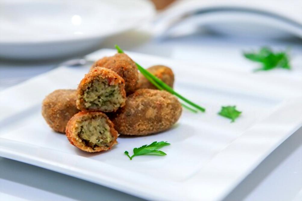 Croquetas de brócoli | Al horno y con queso