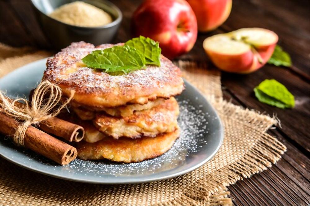 Tortitas de avena BLW – con Manzana