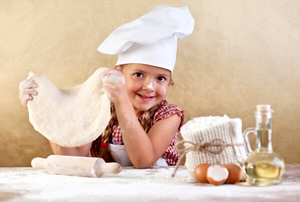 Masa de pizza casera para Niños | ¡Muy Esponjosa!