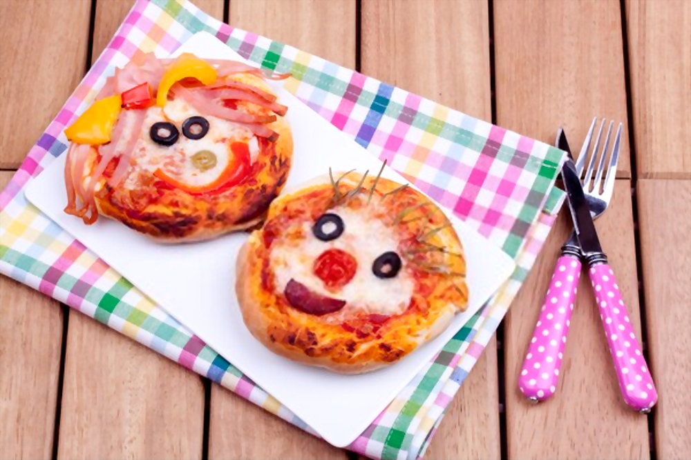 mini pizzas originales y divertidas