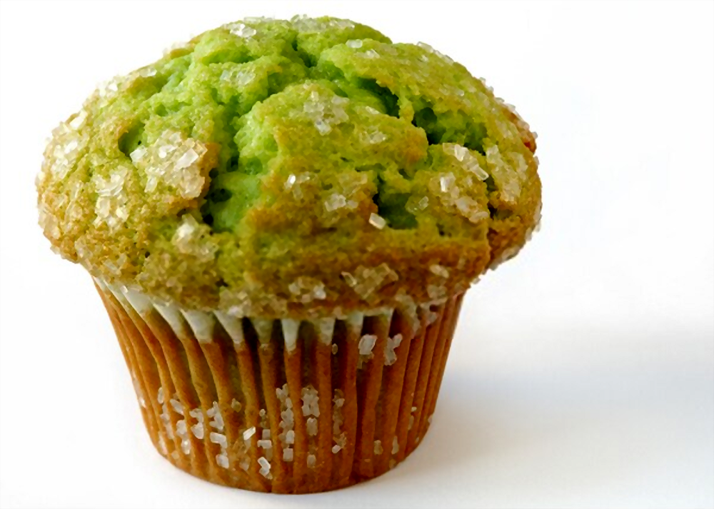 Muffins de aguacate | ¡con pistachos!