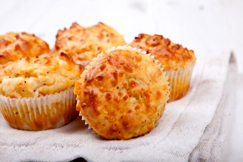 Muffins de coliflor y queso | ¡Irresistibles!