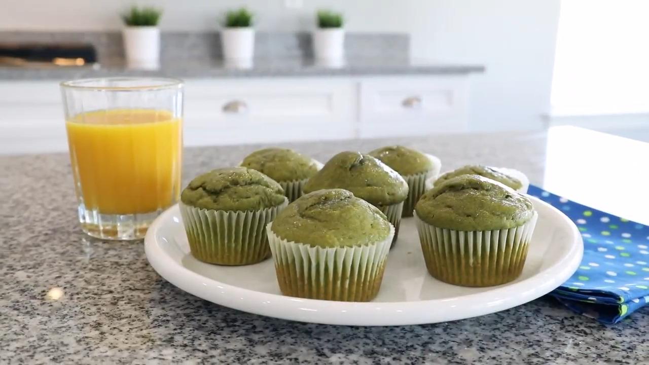 Muffins de espinacas | ¡Irresistibles!