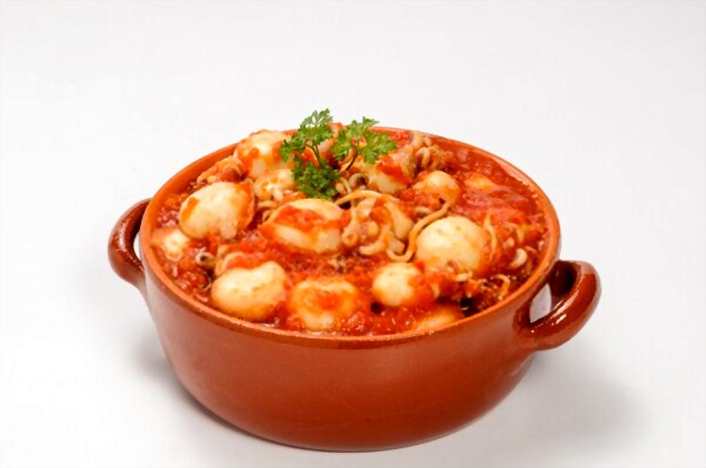 Pica pica de sepia Mallorquín | Receta tradicional