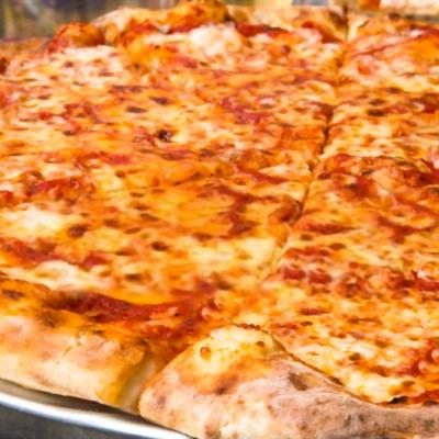 pizza jamon y queso casera