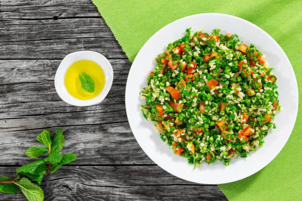 Tabulé o Tabbouleh receta tradicional