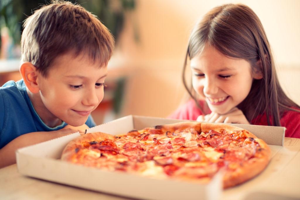 Comida a domicilio para niños