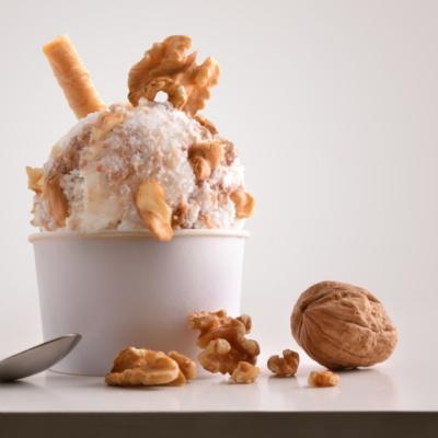 helado de kefir