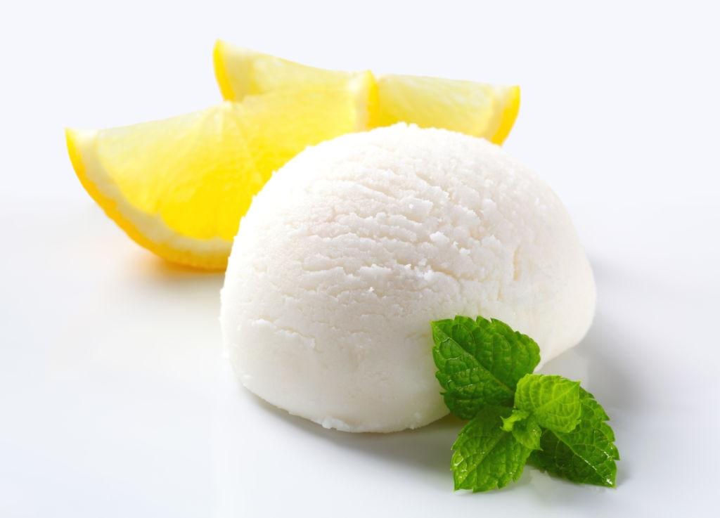helado de limón facil