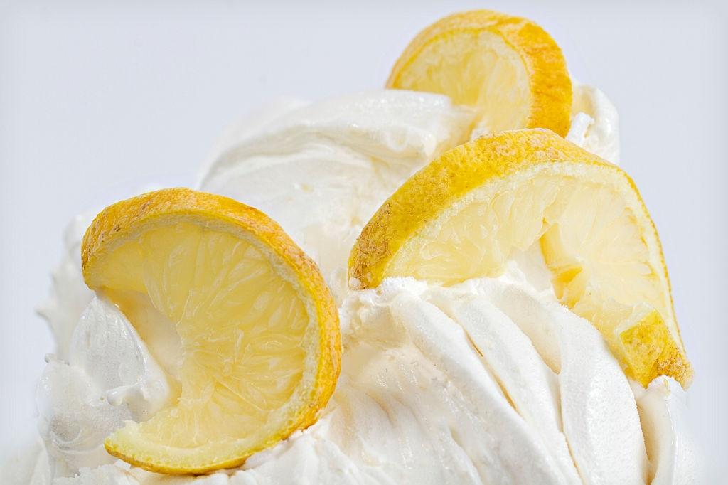 helado de limon con leche condensada