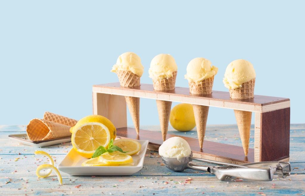 Recetas de Helado de limón 🍋  ¡Cremoso, Fácil y Rápido!
