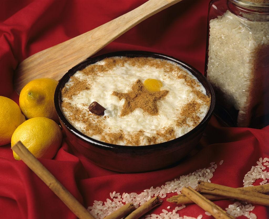 Ingredientes para hacer arroz con leche