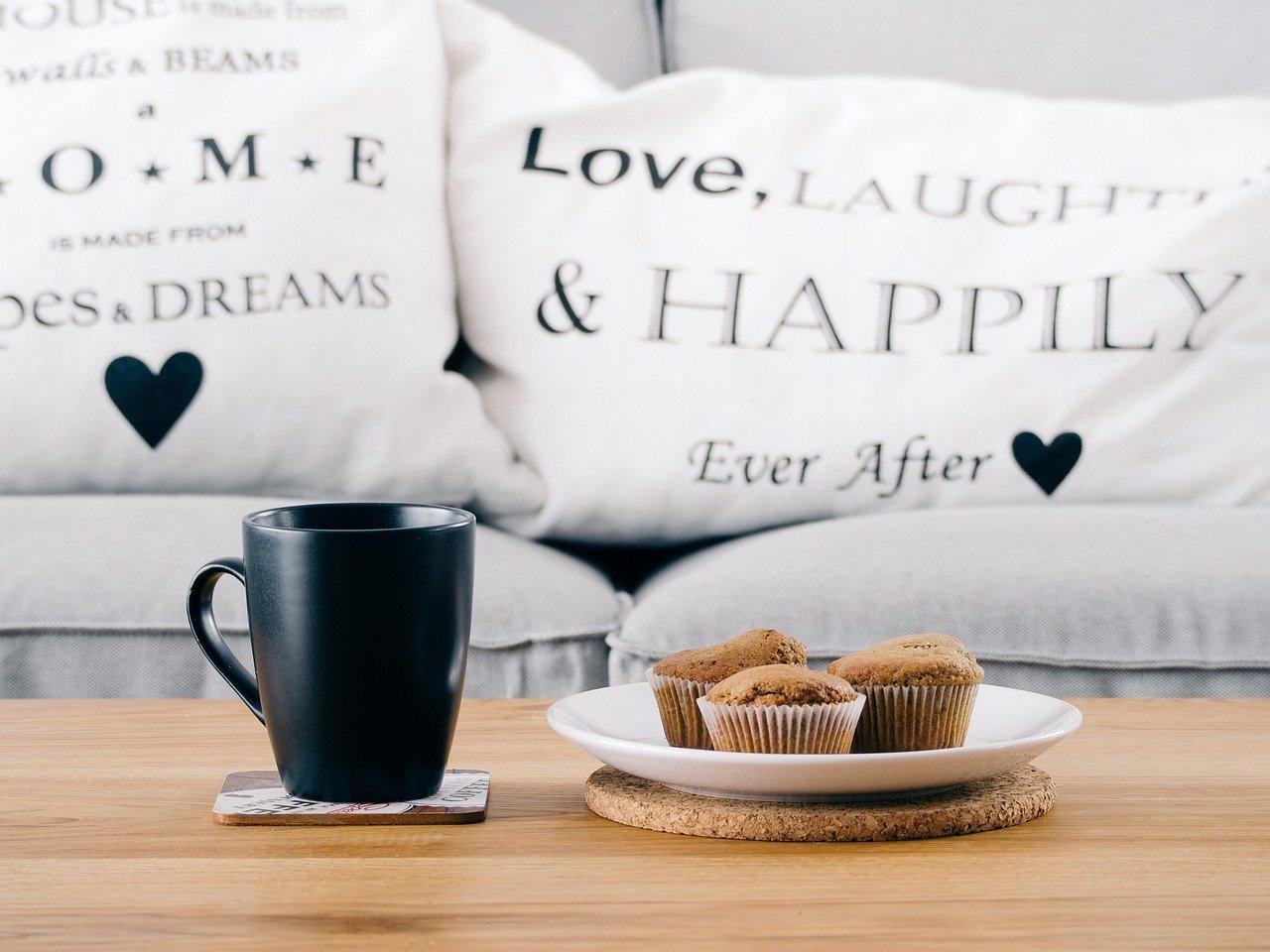 magdalenas sin gluten con cafe