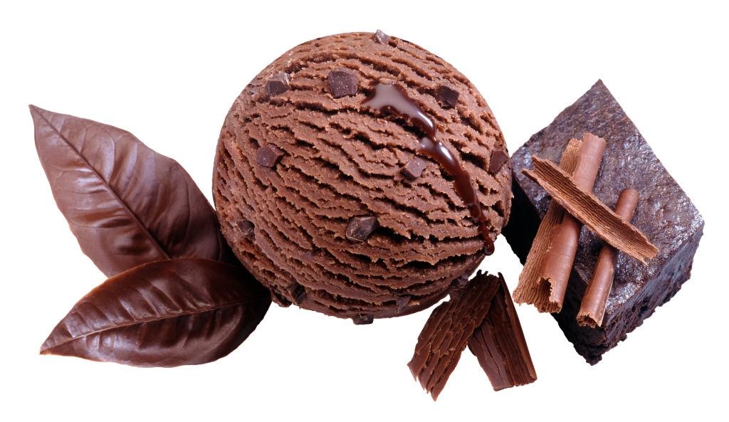 Helado de Nutella y Brownie