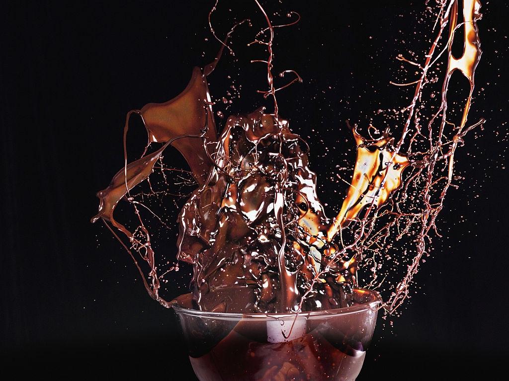 Sirope de chocolate casero | Blanco & Negro