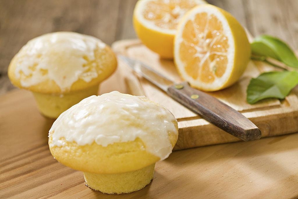 Magdalenas de limón en Thermomix