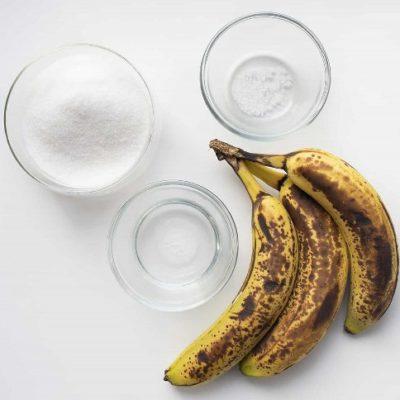 sirope de plátano