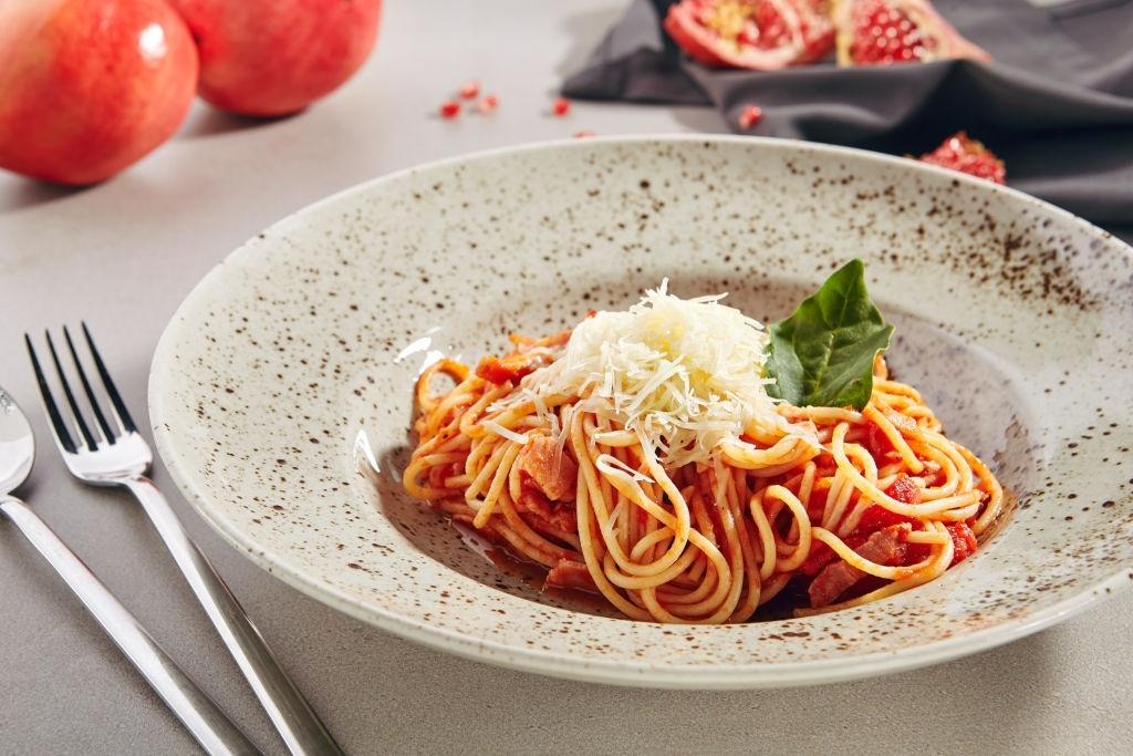 Espaguetis a la Amatriciana | Receta Original