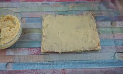 Crema pastelera para base de glaseado de merengue