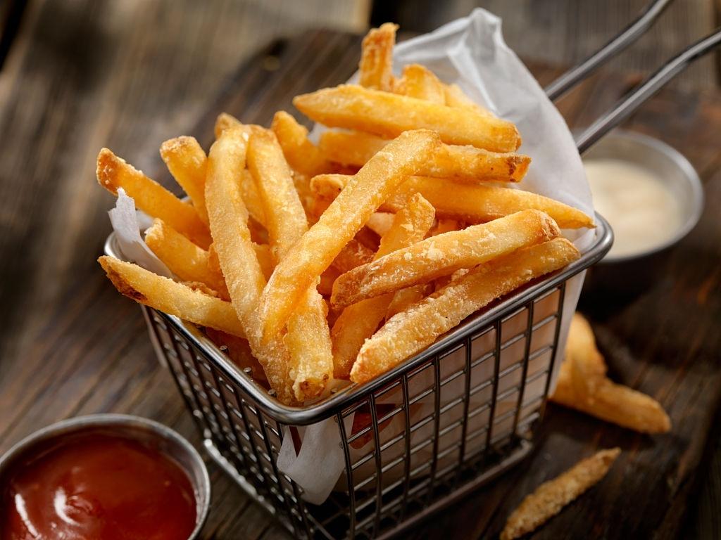patatas fritas crujientes